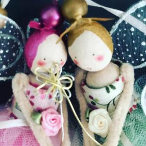 Handmade Birthday Wishes Fairies by Fabulous Fairy Factory